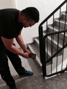 Kamera im Treppenhaus